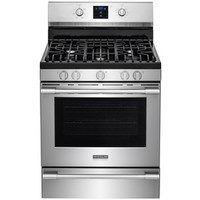 Shop Frigidaire Professional Professional 5-Burner Freestanding 5.6-cu Self-Cleaning Convection Gas Range (Smudge-Proof Stainless Steel) (Common: 30-in; Actual: 29.87-in) at Lowes.com