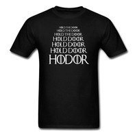 HODOR Hold the Door T shirt Game of Thrones tee euro size S~XXXL