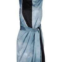 Opening Ceremony Echo Draped Watercolor Dress - Sleeveless Dress - ShopBAZAAR