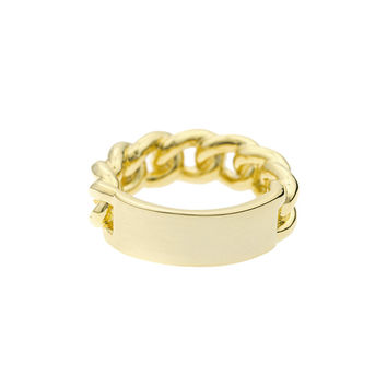 Mister  ID Ring - Gold