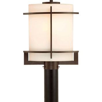 Quoizel Nolan Outdoor Extra-Large Post Lantern in Western Bronze