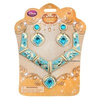 Licensed cool 2015 Disney Store Princess Pocahontas Girl Costume Jewelry Necklace Earrings Set