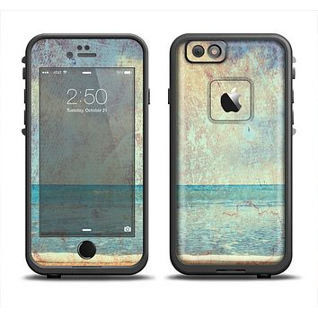 The Vintage Ocean Vintage Surface Apple iPhone 6 LifeProof Fre Case Skin Set