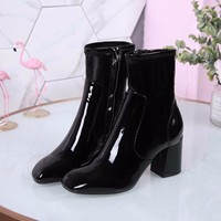 2018 Louis Vuitton new style plum blossom elastic force boots
