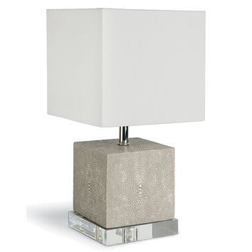 Regina Andrew Sacha Mini Lamp - Ivory Grey | Accent Lamps | Lamps | Lighting | Candelabra, Inc.