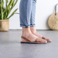 Outlet - Classic Style Women Brown Avarca | Outlet | Avarcas USA