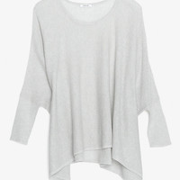Helmut Lang EXCLUSIVE Cashmere Poncho-All-Exclusives-Categories- IntermixOnline.com