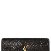 Women's Saint Laurent 'Cassandre' Glitter Clutch