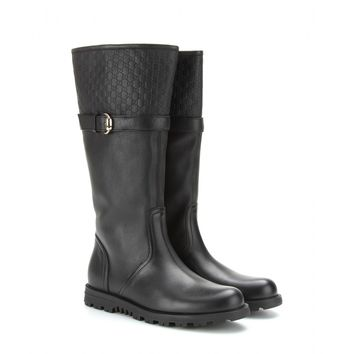gucci - tyler leather boots