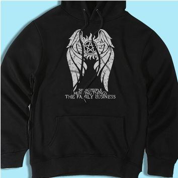 Supernatural Winchester Brothers Hunters Men'S Hoodie