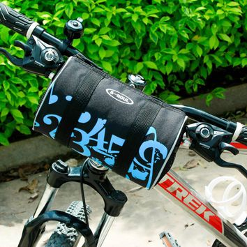 Folding bikes Bicycle Bag Front Mountain Bike Handbar Bag Panniers Cycling Basket Bicycle Acessorios Bolsa Para Bicicleta