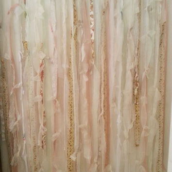 Shop shabby chic shower curtains on wanelo for Shabby chic rhinestone shower hooks