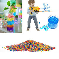 3000 Pcs Color Soft Crystal Bullet Water Gun Paintball Bullet Orbeez Gun Toy Nerf Bibulous Air Pisol Toy for Boy Children Kids