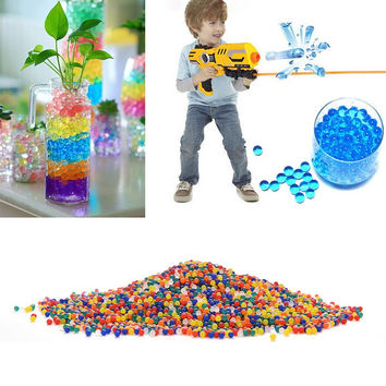 New 1 Bag Water Aqua Crystal Soil Wedding Gel Ball Beads Vase Centerpiece Weeding Mud Grow Magic Jelly Balls