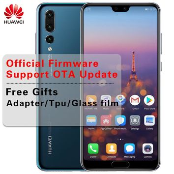 Huawei P20 Pro 6.1 inch Kirin 970 Octa Core IP67 Smartphone 6GB RAM 40.0MP Android 8.1 Face ID SuperCharge NFC