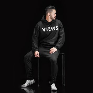 ca qiyif VIEWS FROM THE 6 HOODIE AS WORN BY DRAKE