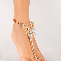 Scorpion Pinch Anklet