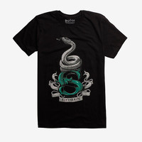 Harry Potter Slytherin S Logo T-Shirt