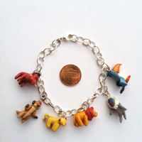Disney's The Lion King Clay Charm Bracelet
