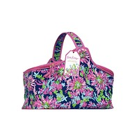 Party Cooler in Navy Trippin' and Sippin' by Lilly Pulitzer