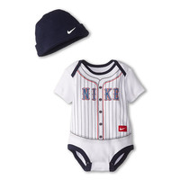 Nike Kids Baseball Jersey Creeper (Infant) White - Zappos.com Free Shipping BOTH Ways