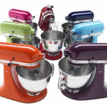KitchenAid Stand Mixer tilt 5-QT rrk150 Refurb Of Ksm150ps Artisan Tilt ALLMetal