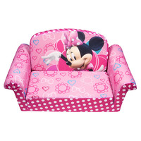 Disney Minnie Mouse Minnie Bow-tique Master Flip Open Sofa
