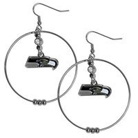 Seattle Seahawks Hoop Earrings - Mudd Creek