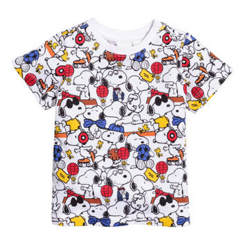 H&M T-shirt with Printed Design $7.99