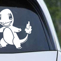 Pokemon Charmander Fire Die Cut Vinyl Decal Sticker