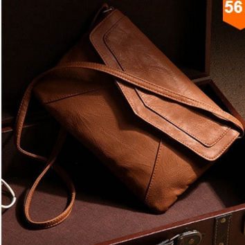 fd2f18f2c055 womens leather envelope shoulder bags ladies small vintage summe