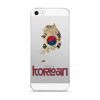The South Korea Flag iPhone case