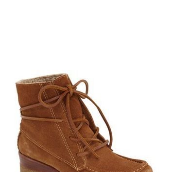 Dolce Vita 'Sylvia' Lace Up Bootie (Women) | Nordstrom