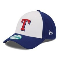 New Era Texas Rangers The League 9FORTY Adjustable Cap - Youth, Size: One Size (White)
