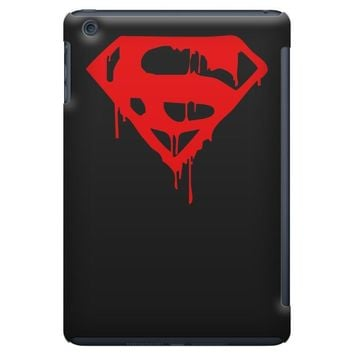 dripping blood superman iPad Mini