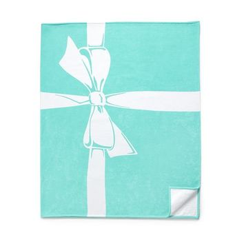 Tiffany & Co. -  Tiffany Bow beach towel in Tiffany Blue® cotton.