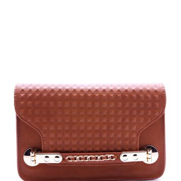 Editorial Clutch - Brown