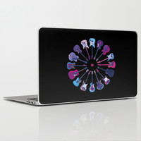 Music Circle Laptop & iPad Skin by Matt Irving