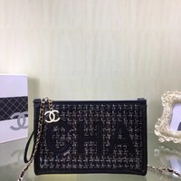 CHANE SIZE  25*15*3 CM Double C silver and gold on Chain cross body bag Chane vintage Chanl jumbo Crossbody Satchel Shoulder Bag Monogram Tote Handbag Bags Best Quality