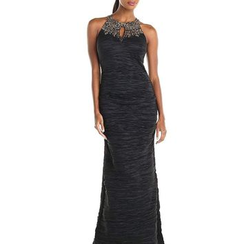 Alex Evenings - Halter Long Gown 166497