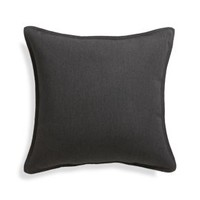 "Sunbrella ® Charcoal 20"" Sq. Outdoor Pillow"