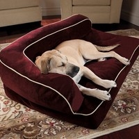 Doctors Foster & Smith Luxury Chaise Rectangular Pet Bed