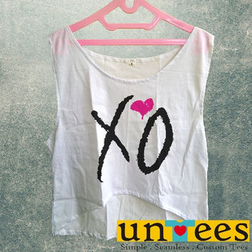 Women's Crop Tank - XO Drake Beyonce The Weekend Fresh Lil Wayne Design