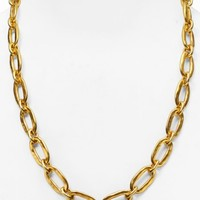 Uno de 50 Chain Link Necklace, 24"