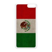 Canvas Flag of Mexico - Mexican Flag - Bandera de Mexico White Hard Plastic Case for Amazon Fire Phone by UltraFlags