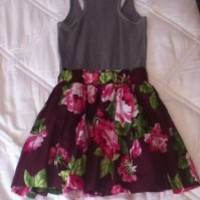 Hollister Grey/maroon Dress 35% off retail