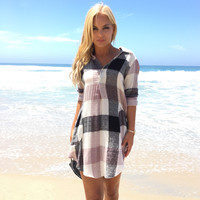 Color Correcting Plaid Tunic & Dress