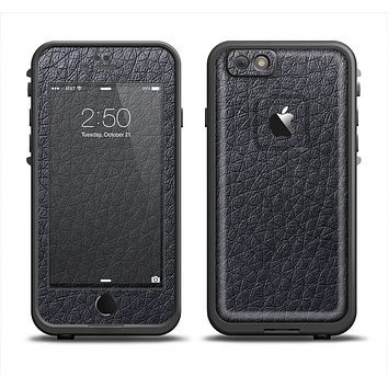 The Black Leather Apple iPhone 6 LifeProof Fre Case Skin Set
