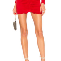 Lovers + Friends Joseph Mini Skirt in Red