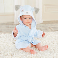 Puppy Hooded Spa Robe